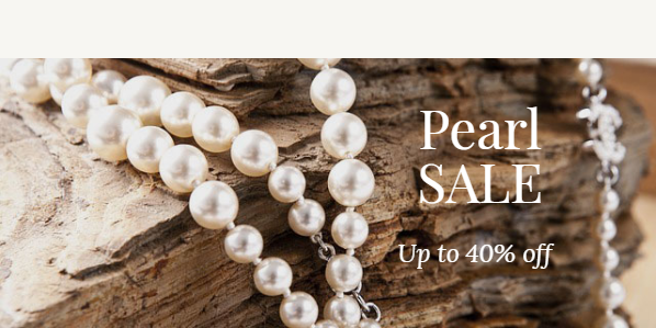 Pearl Jewelry. Up to 30% off!